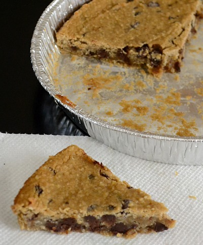 cookie with beans pie