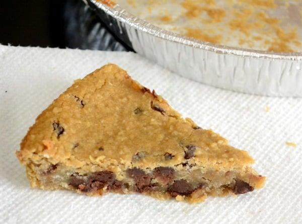 healthy vegan cookie pie