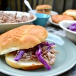 Slow Cooker Kalua Pig with Hawaiian Sweet Bread