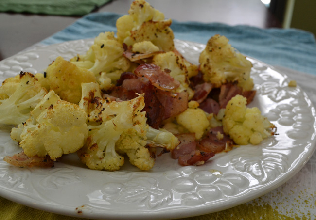 whole 30 cauliflower and bacon