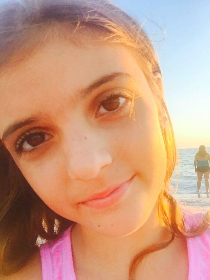 lido beach selfie