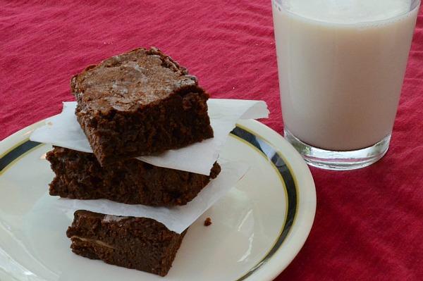 baked bakery brownie recipe