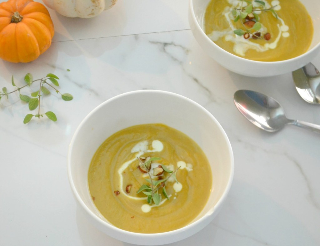 whole 30 roasted butternut squash soup