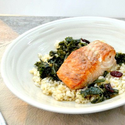 Weeknight Pan Roasted Salmon