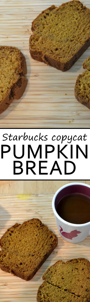 starbucks copycat pumpkin bread