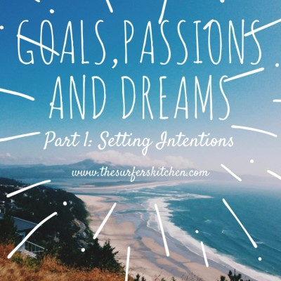 Goal Setting, Passion Planning and Dream Living: Part 1