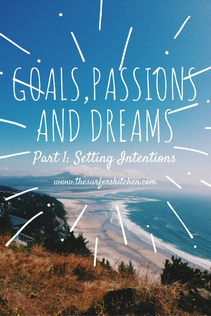 goal setting, passion planning and dream living