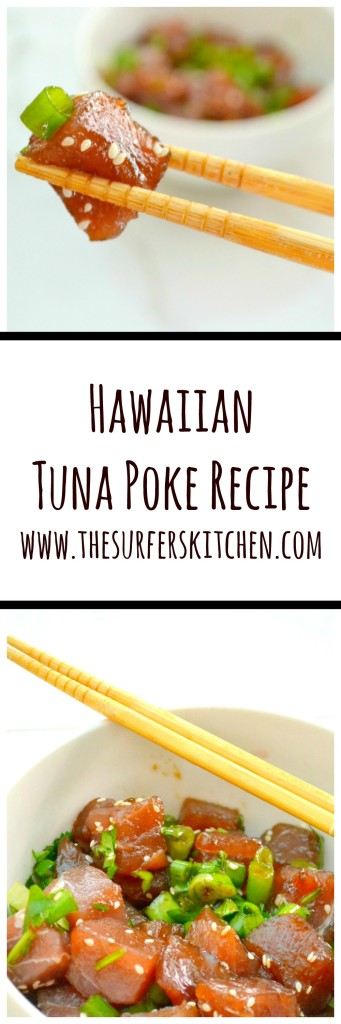 hawaiian tuna poke