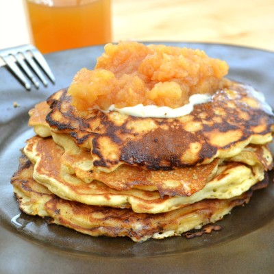 Brown Rice Pancakes