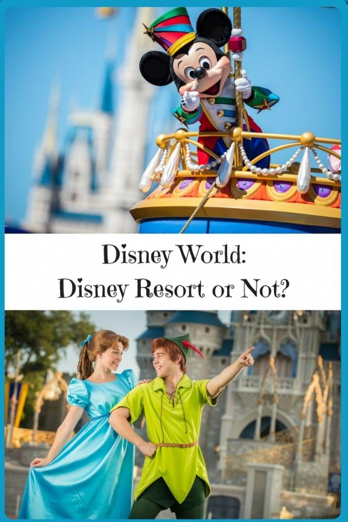 Disney World: Disney Resort or Not? |www.thesurferskitchen.com