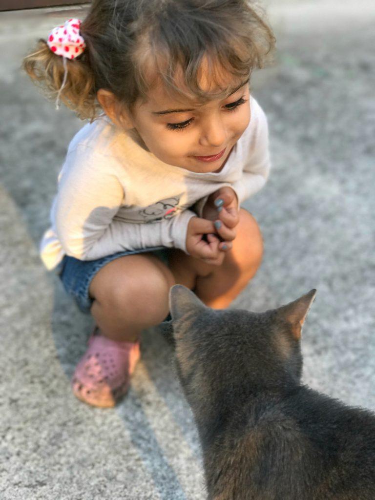 Luna with Bella