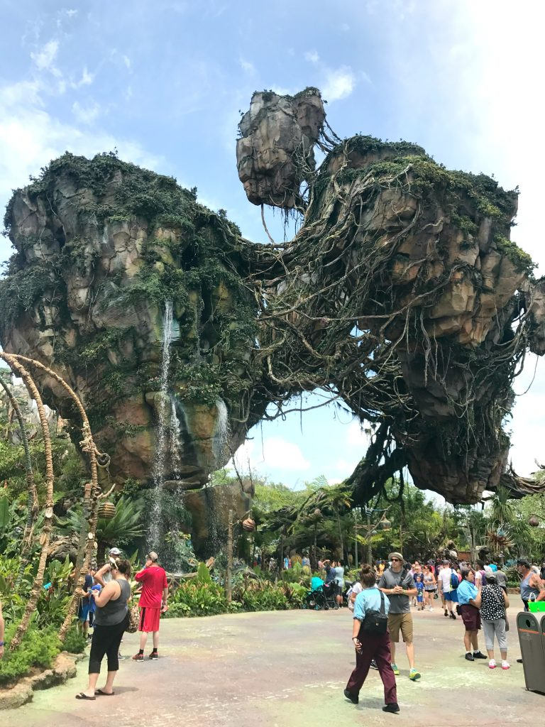 Disney World Pandora Floating Islands and Waterfalls