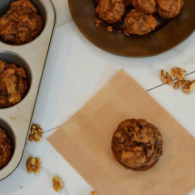 Nut Butter Banana Muffins: No Added Sugar
