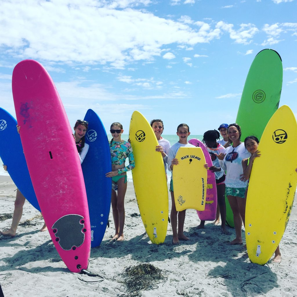 Gnarlaroo Surfboards are the best for beginners and will last longer than other soft top surfboards. We love these and use them all the time. Great gift idea! | www.thesurferskitchen.com