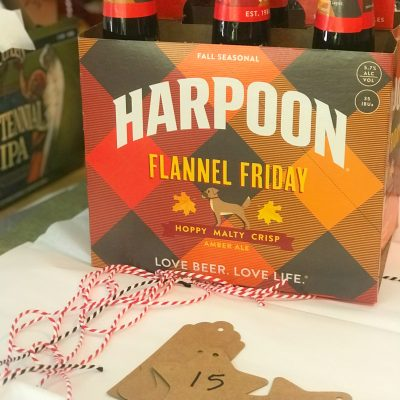 Six pack of Harpoon Brewery Flannel Friday Beer
