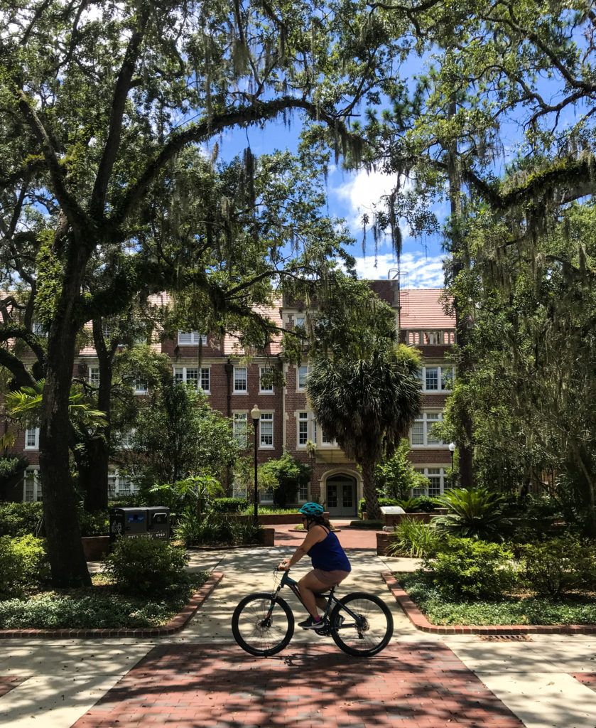 University of Florida Bike Ride Gainsville Florida