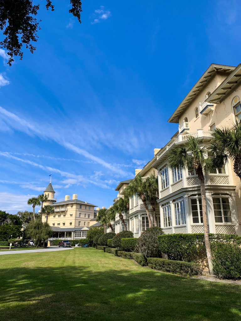 Jekyll Island Club on Winter Day